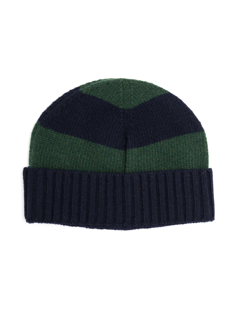 Arbury Hat Oxley in Navy/Green