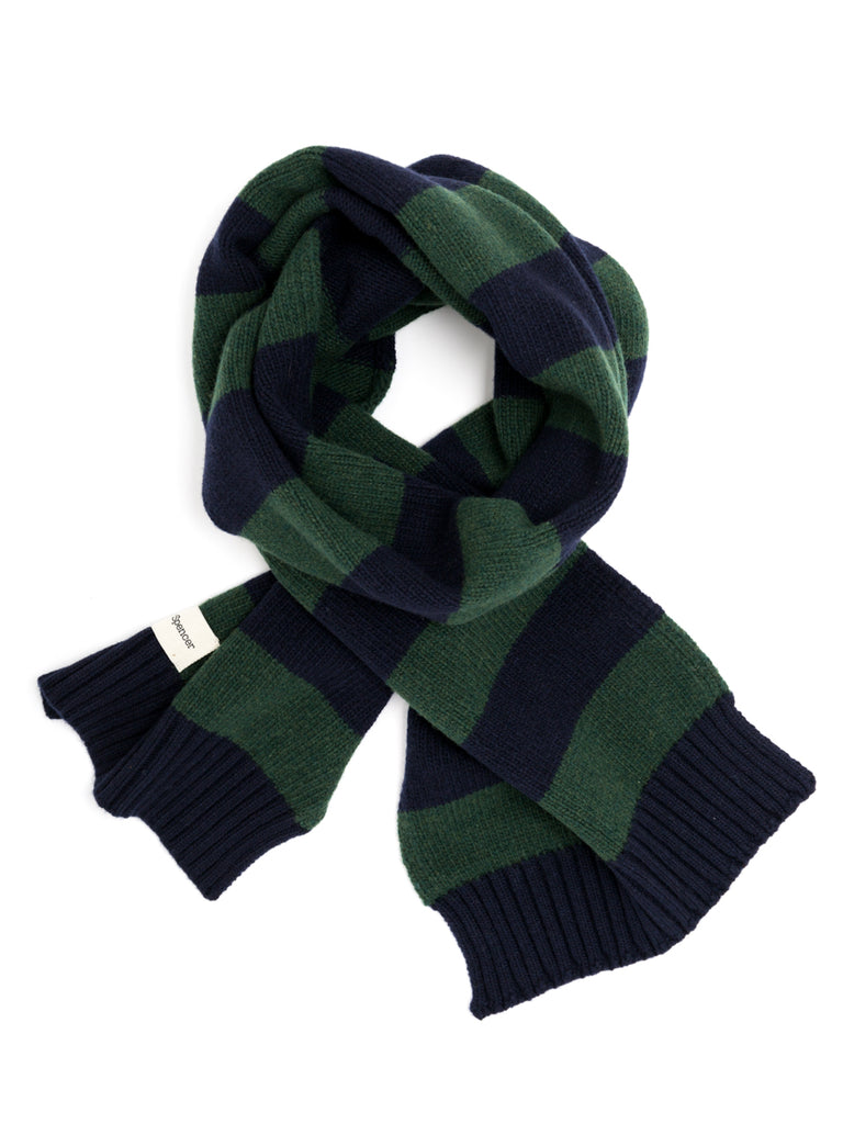 Arbury Scarf Oxley in Navy/Green