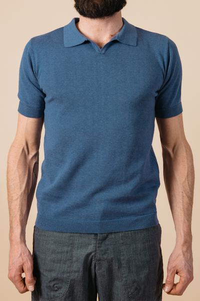 Kestin Hare Newport Polo in French Navy