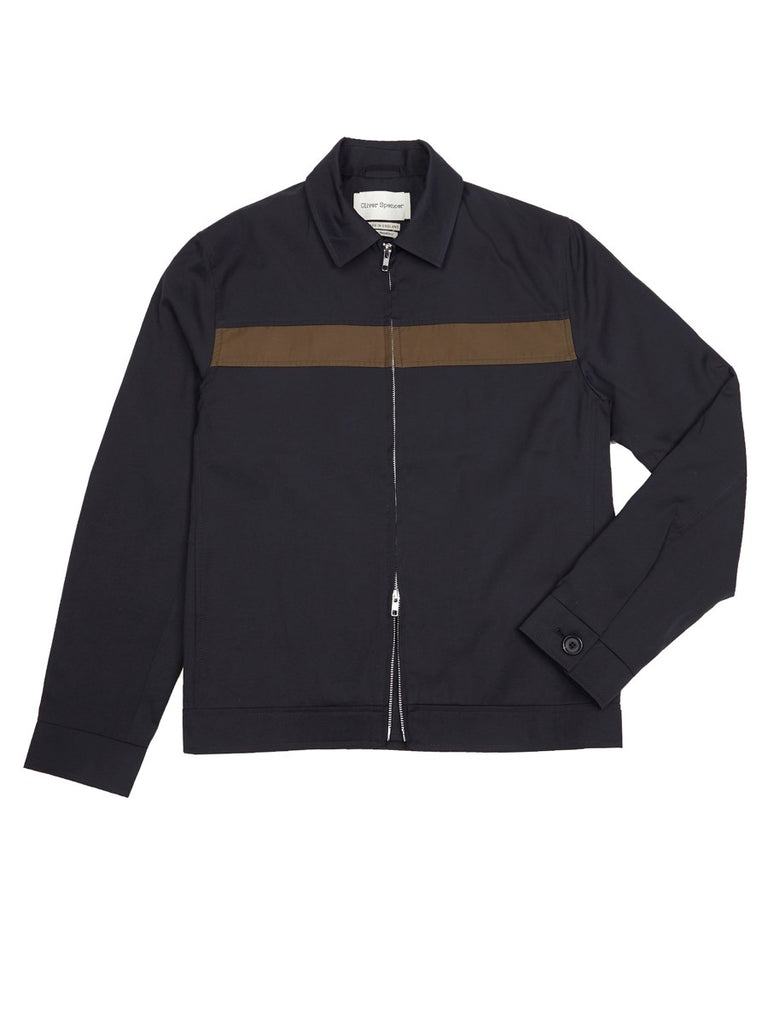 Oliver Spencer Buck Jacket in Navy