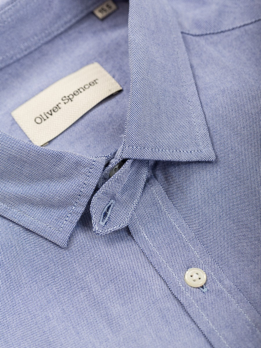 Clerkenwell Tab Shirt Astley in Blue