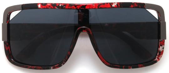 Faceless Sunglasses - Red Tortoiseshell