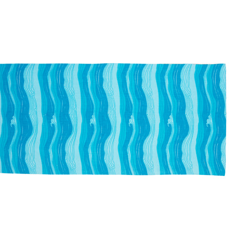 Sea waves Table Runner