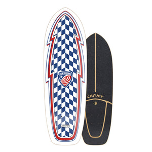"30.75"" USA Booster - Deck Only - Carver Skateboards UK"