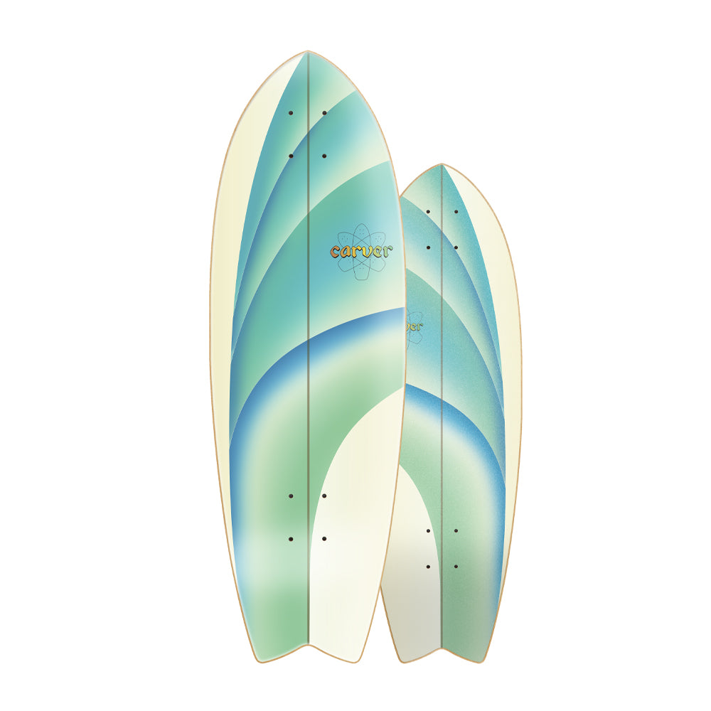 "30"" Emerald Peak - Deck Only - Carver Skateboards UK"