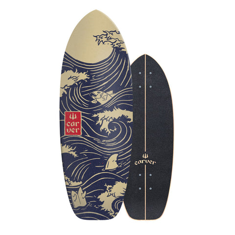 "28"" Snapper - Deck Only - Carver Skateboards UK"