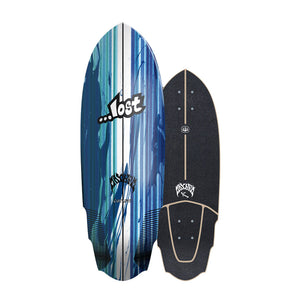 "Carver Skateboards UK - 30"" ...Lost V3 Rocket - Deck Only"