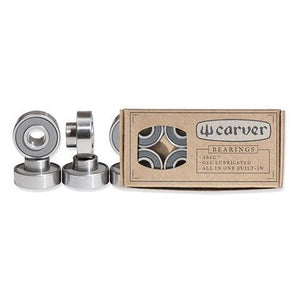 ABEC 7 Bearings - Built In Spacers - Carver Skateboards UK