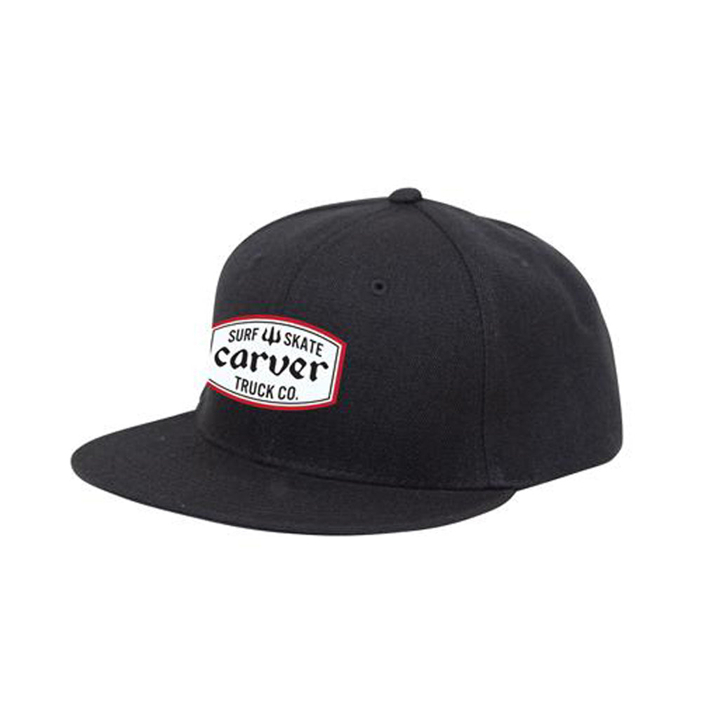 Service Patch Snapback Hat - Carver Skateboards UK