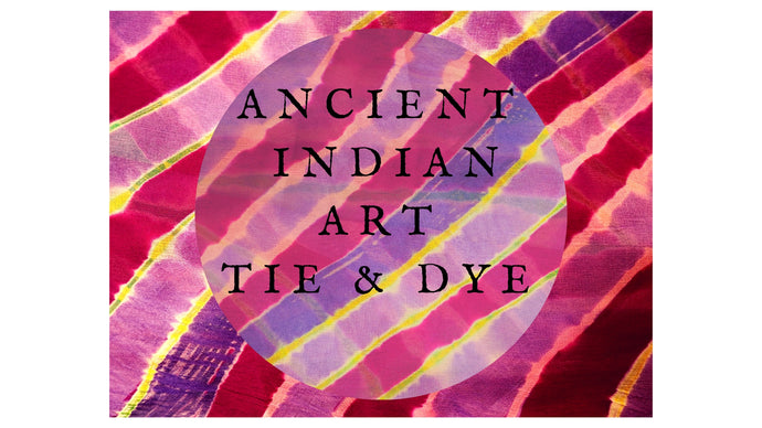 Ancient indian art Tie & Dye