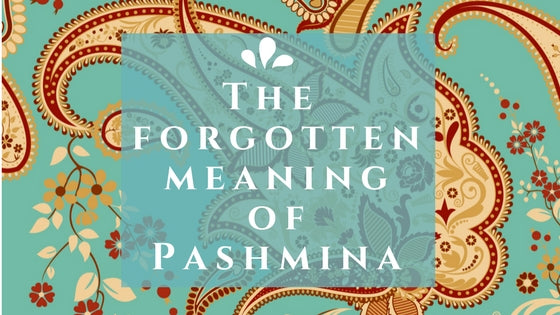 The forgotten meaning of Pashmina