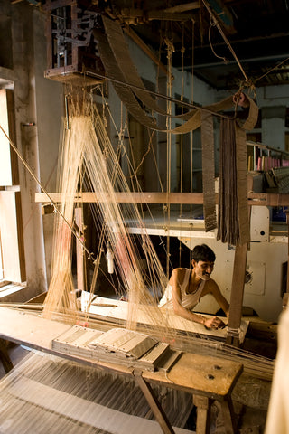 ancient hand loom