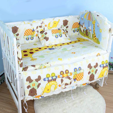 Newborn Baby Cot Bedding Set