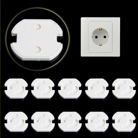 10Pcs Plug Socket Cover Baby Proof
