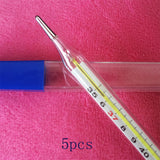 5 pcs/set Baby Glass Thermometers