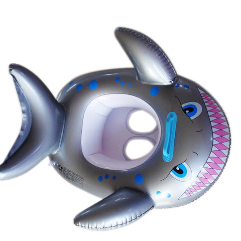 Shark Inflatable Baby Ring