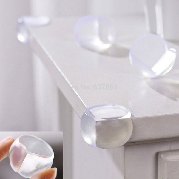 5pc Glass Table Corner Guards