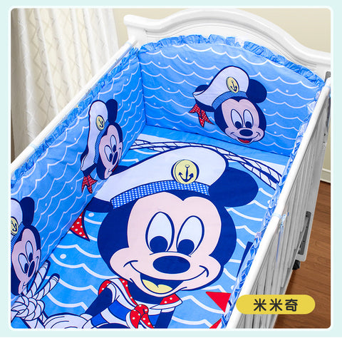 Cartoon Baby Cot Beds Baby Bedding