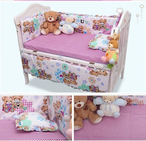 Baby Bedding Sets Include Pillow Bumpers Mattress