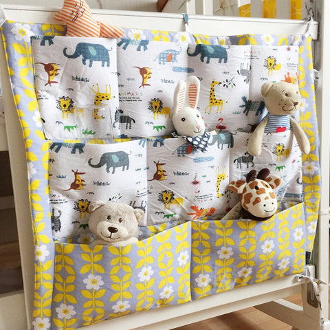 Baby Cot Bed Hanging Storage Bag
