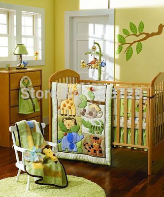 Baby Boy-Girl Crib Bedding Set