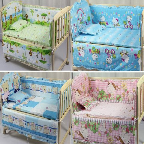 Baby Bedding Set Include Pillow Bumpers Mattress
