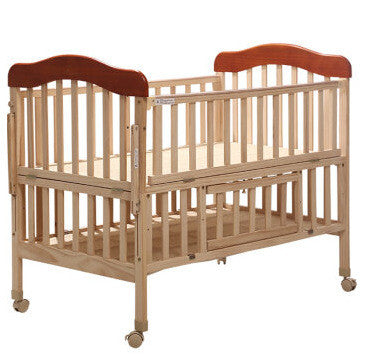 Pine Baby Bed Trolley