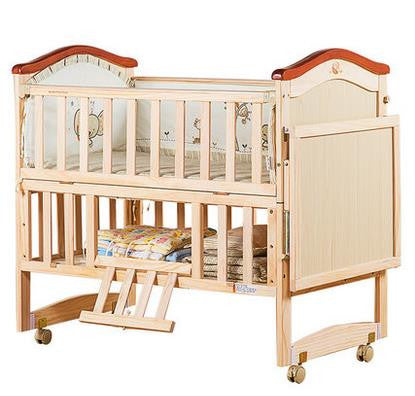 Pine Multinational Baby Crib