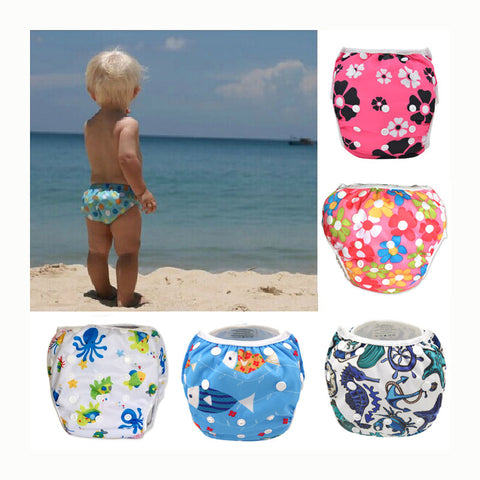 Swim Diaper wear Leak-proof Reusable