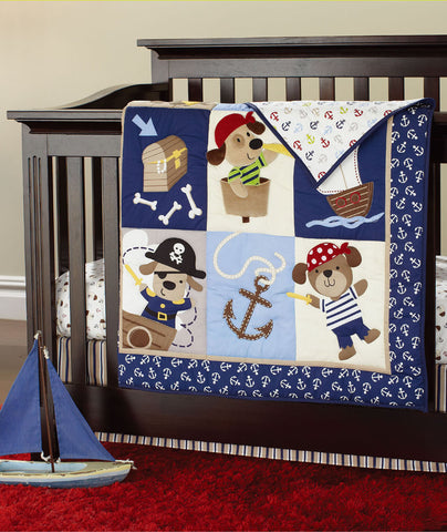 Newborn Baby Crib Bedding Set for Boys