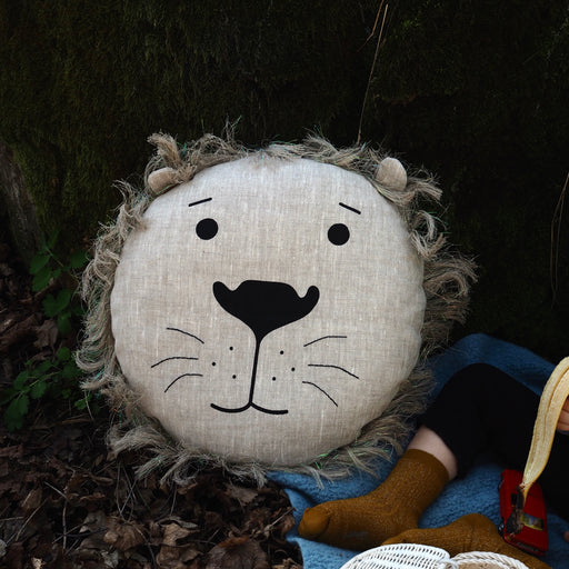 Lino the Lion cushion