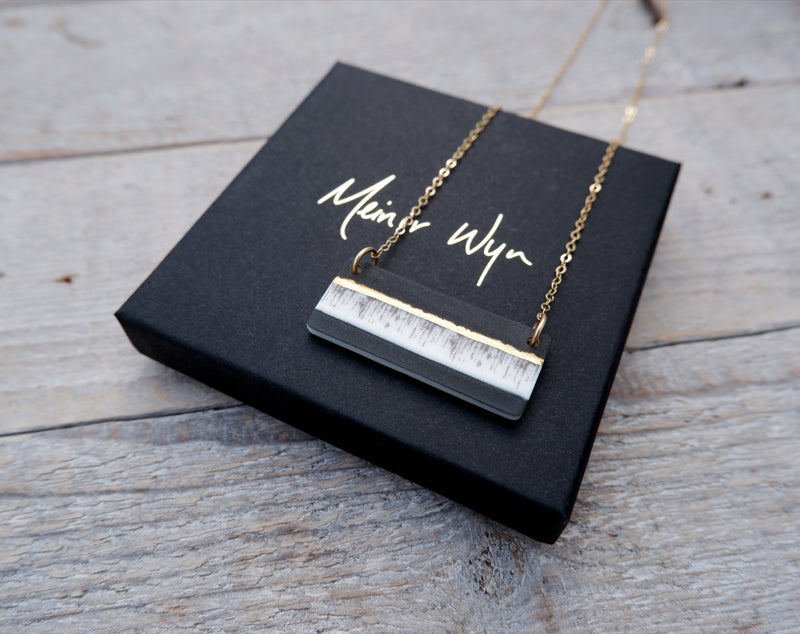 Gold Ink Necklace