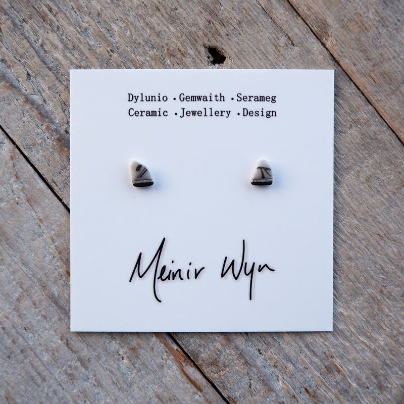 Mini Porcelain Studs