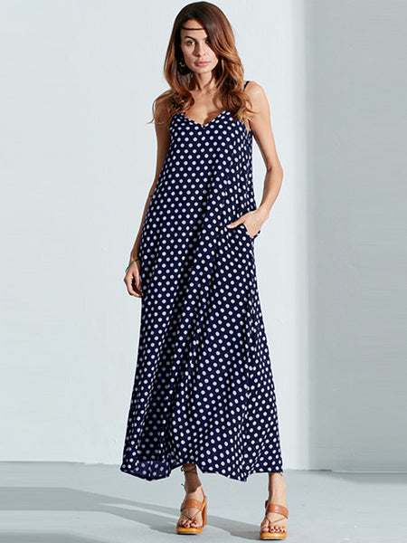 Beach Backless Summer Maxi Dress-MegaStoreCentral