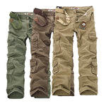 Military Style Cargo Pants-MegaStoreCentral