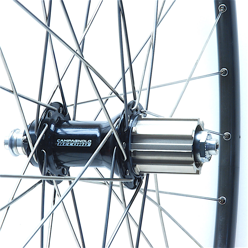 "Paul's ""Restomodded"" Campagnolo Record on Mavic Open Classic rims"