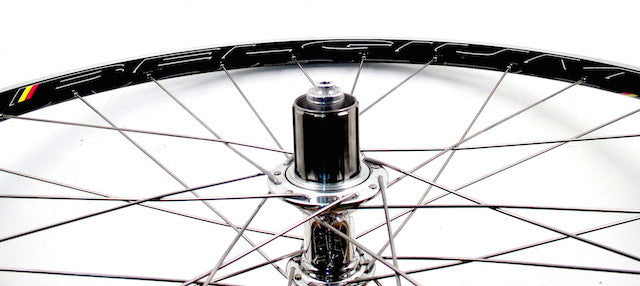 Daniel's White Industries T11 on HED Tubeless Ready Belgium+ rims