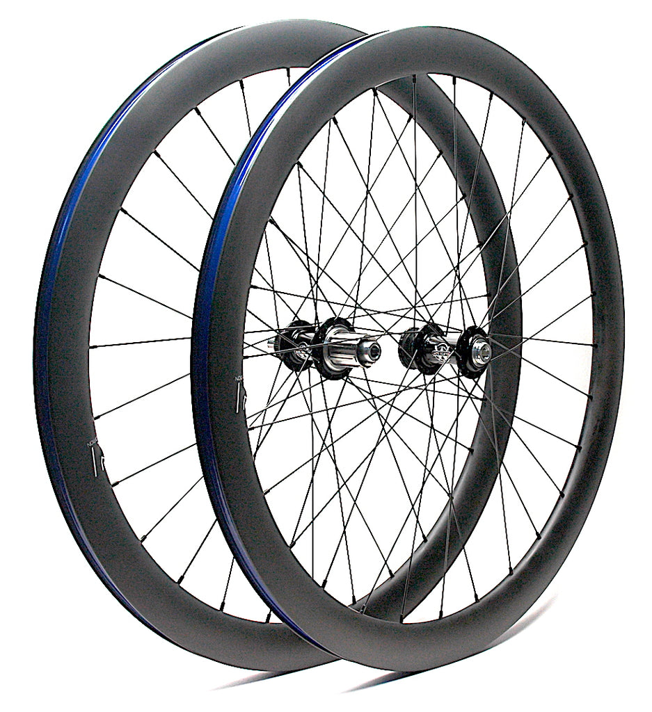 Kwesi's Ultimate Disc Road Wheels - White Industries CLD on Nextie Carbon