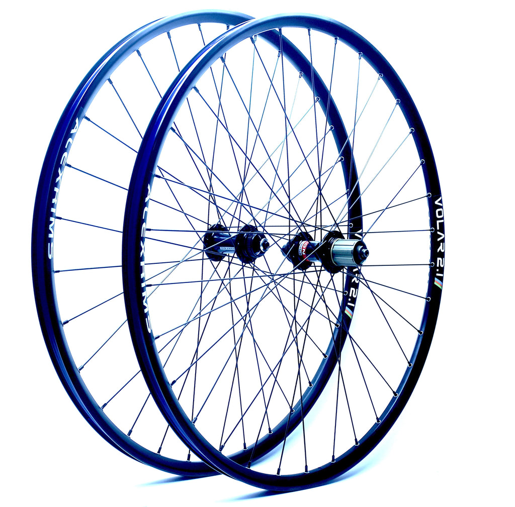 "Evan's Disc ""All-Road"" Wheels - Novatec Hubs on AlexRims Volar 2.1 29er/700c rims"