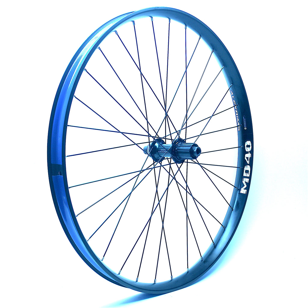 Aaron's New E-Bike Wheel