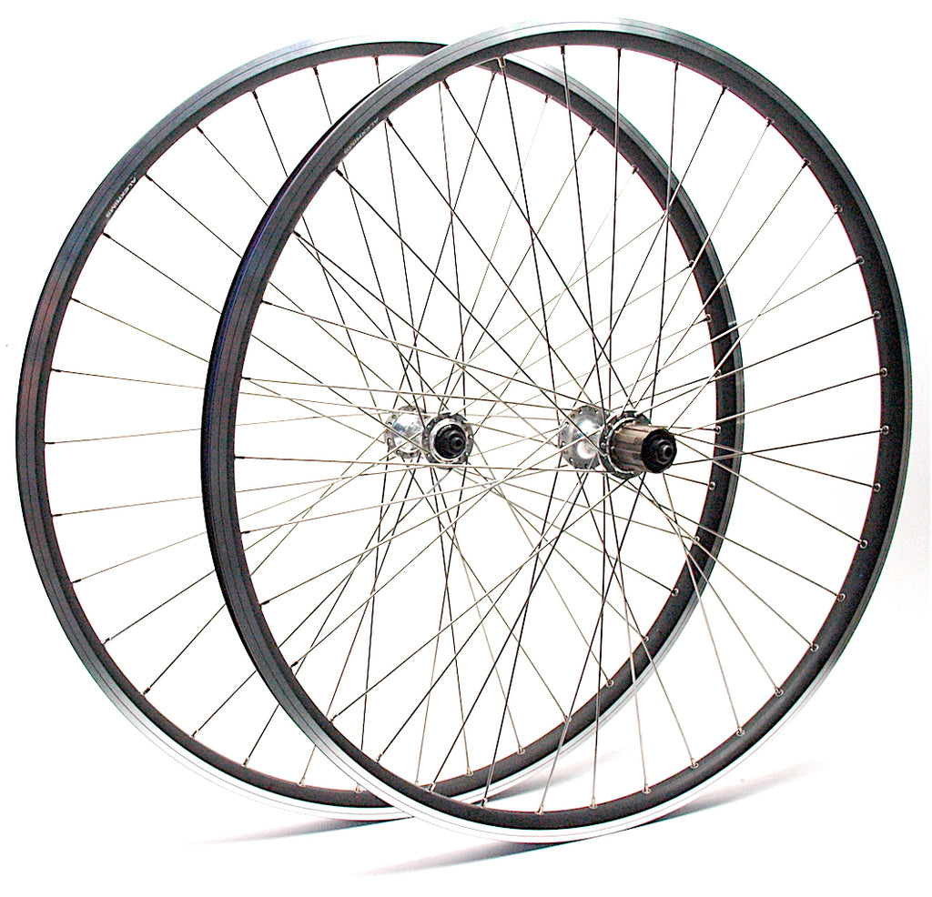 Jeff's Retro Touring Wheels - Alex DM21 on Shimano Deore DX
