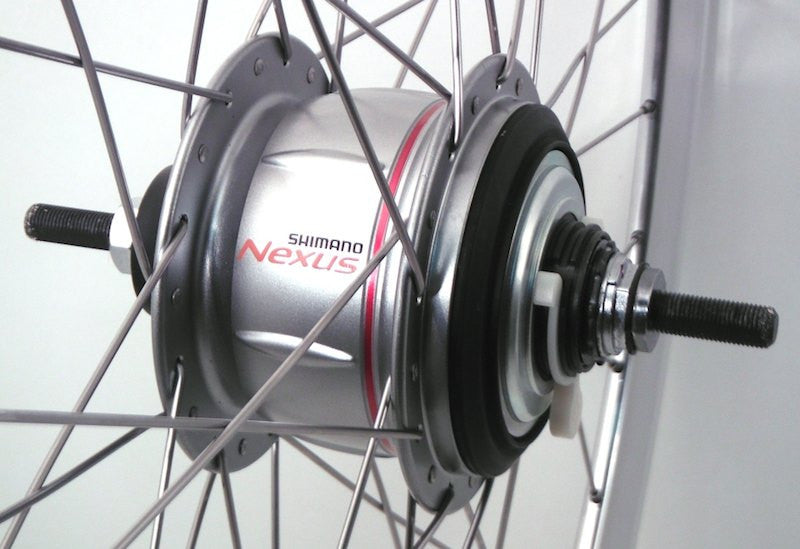 Daniel's Shimano Nexus 8 and Hplusson bling build!