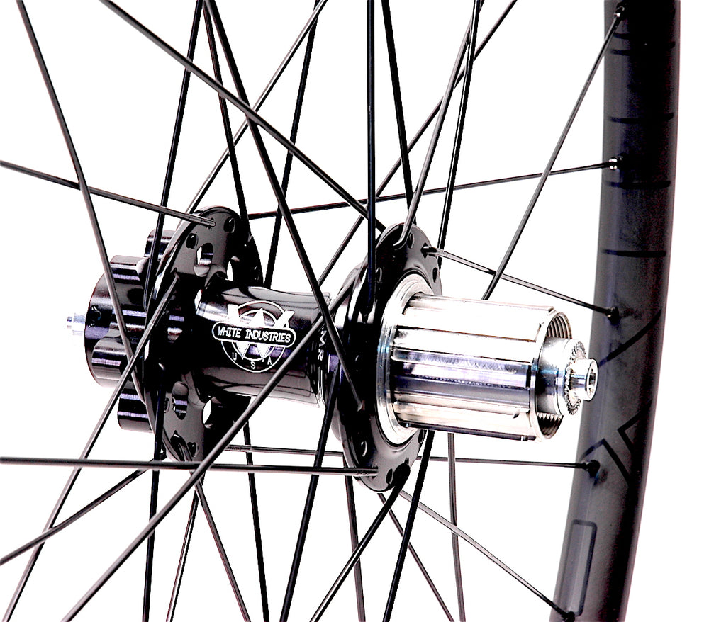 Dan's Superlight Nextie Carbon CX/Gravel wheels - White Industries XMR hubs