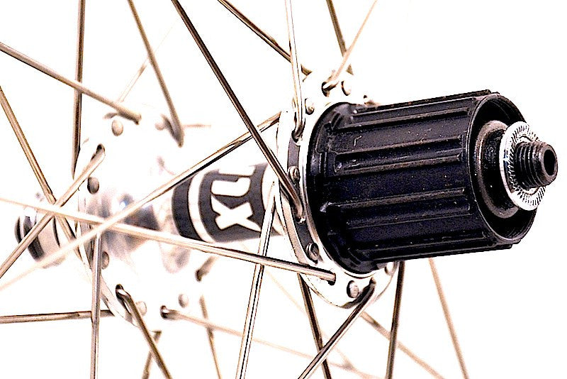 Custom retro wheels on XLR8 Rouleur Mk3 hubs