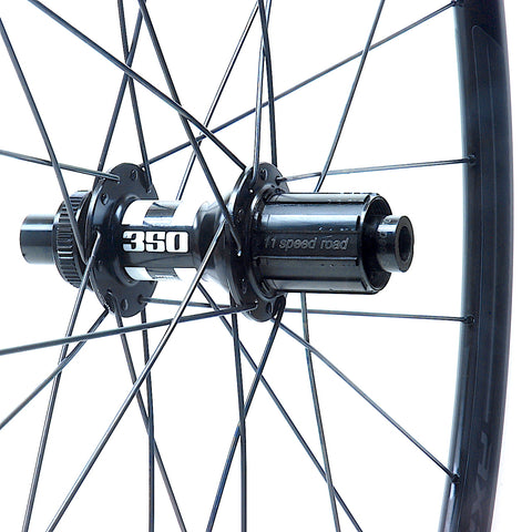 XLR8 Performance Bicycle Wheels DT Swiss 350 Centrelock on Specialized Axis Alloy