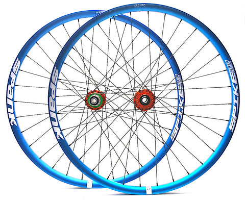 Hope Pro4 hubs and Spank Spoon rims by XLR8 Performance Bicycle Wheels Profile