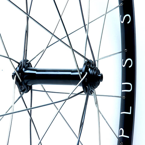 XLR8 Performance Bicycle Wheels Hplusson Archetype on Bitex RAF13 Hub Front