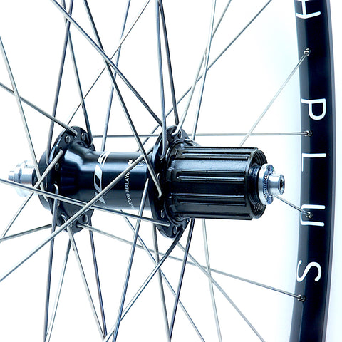 XLR8 Performance Bicycle Wheels Hplusson Archetype on Shimano R7000 105 Hub Rear