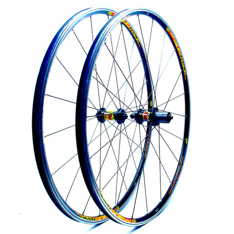 Mavic Aksium Race Rebuild by XLR8 Performance Bicycle Wheels with Sapim Spokes