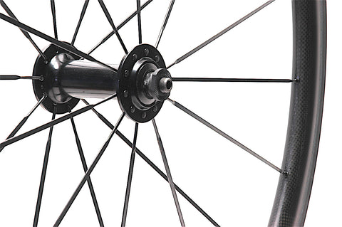 XLR8 Perfromance Bicycle Wheels Mercury Carbon Wheel Repair Front Hub Replaced With Shimano